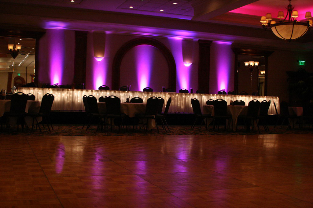 uplighting & Lighting by Robert Lawrence Weddings - Accent Lighting for Weddings ...